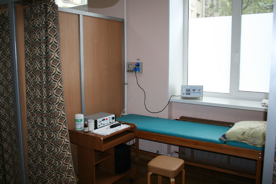 кабинет электро-светолечения на 7 кабин
