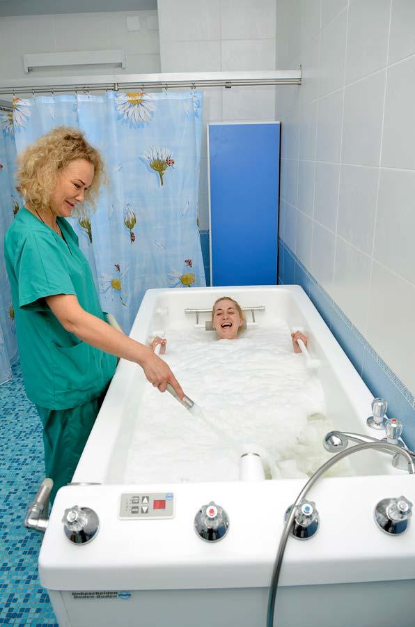 Подводный ручной душ массаж.