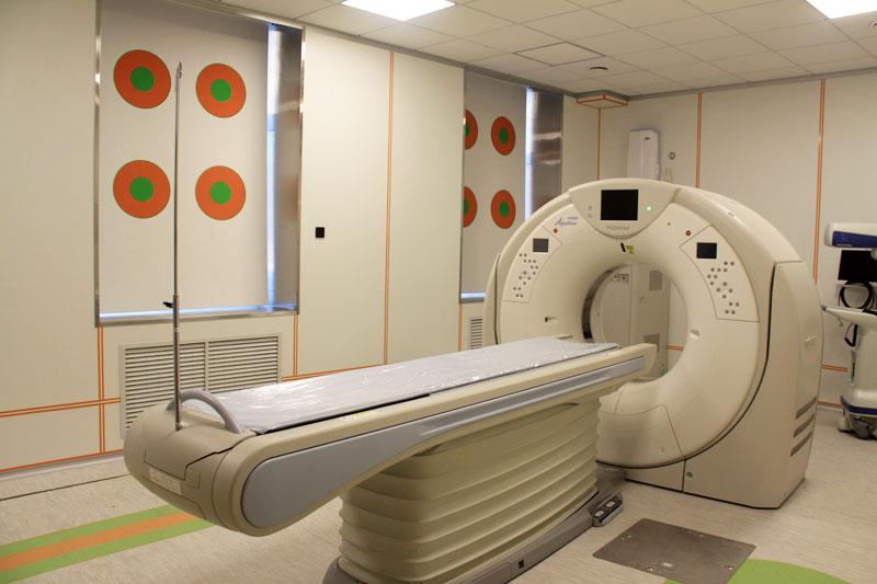 Многослойный спиральный компьютерный томограф Aquilion Prime.
